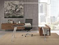 Стеклянный Письменный Стол H200