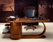 Деревянный Письмейнный Стол C200 | Wood top, Crystal top