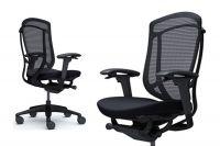 Кресло OKAMURA CONTESSA 2 Черное Ткань Черная