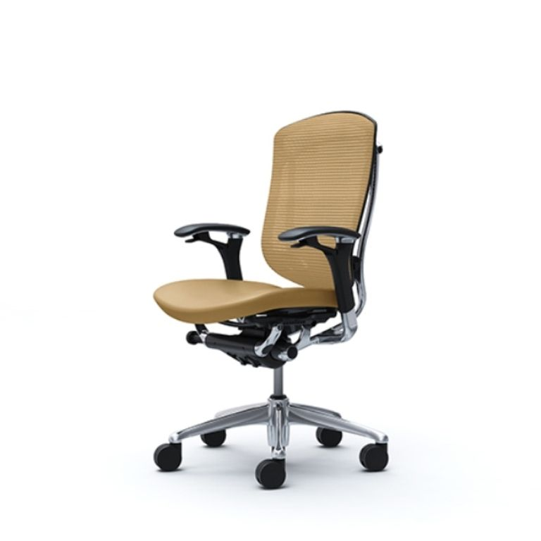Кресло CONTESSA Сиденье кожа бежевая