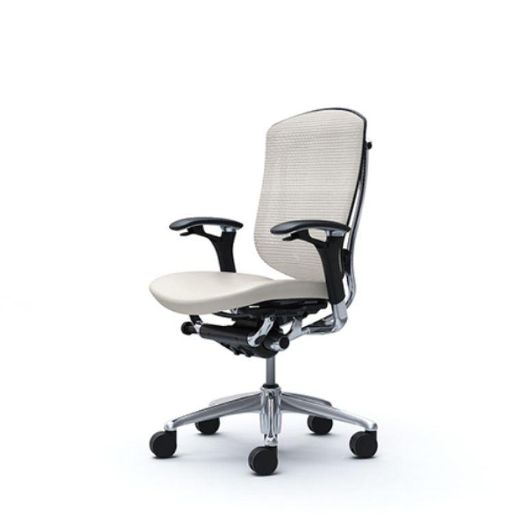 Кресло CONTESSA Сиденье кожа белая