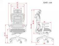 Кресло ALS Ergohuman Base Черное
