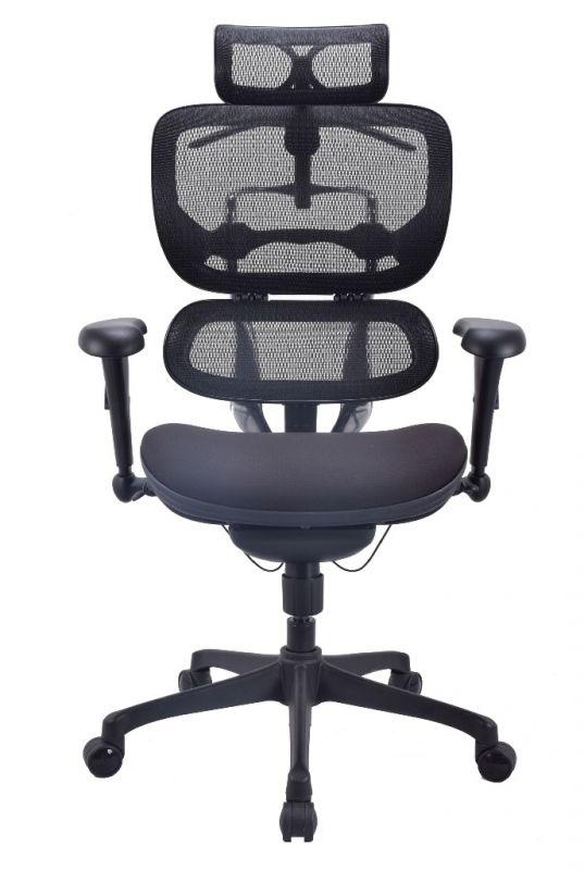Кресло ALS Ergohuman Basic Черное - Быстрая поставка со склада