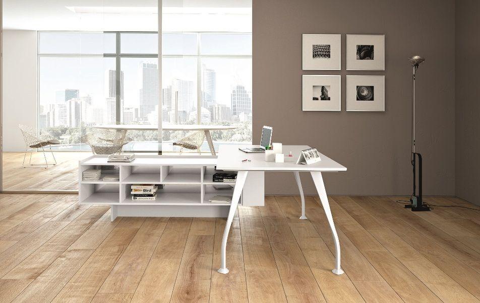 Белая Офисная Мебель H201