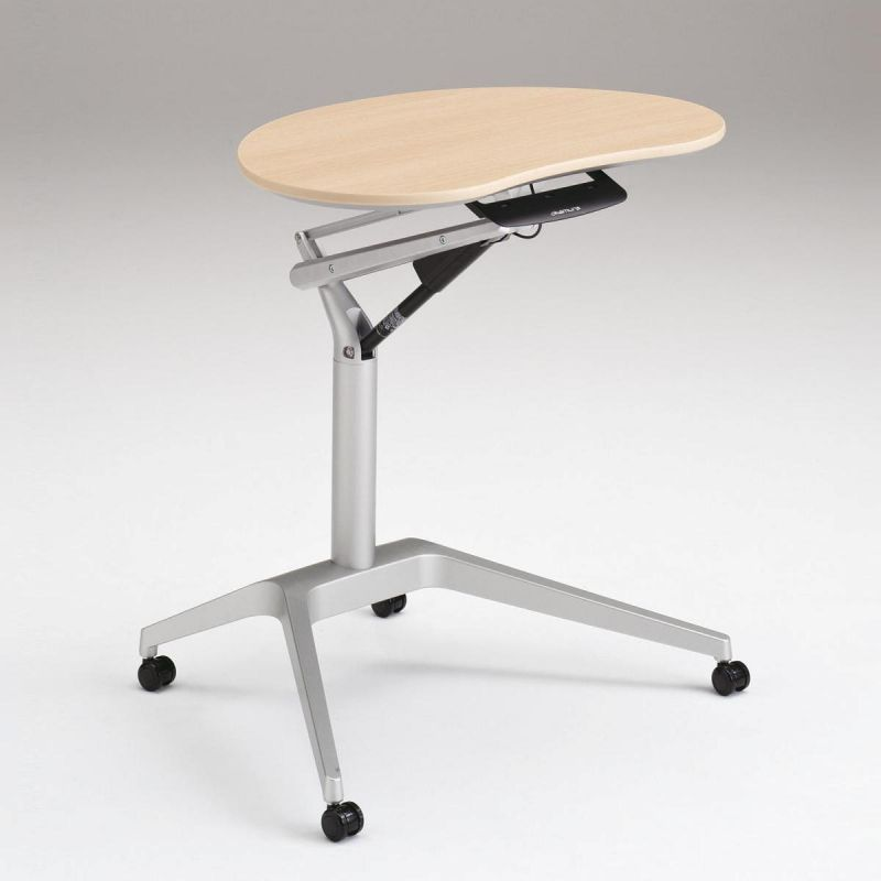 Стол OKAMURA RISEFIT с Серебряной ногой