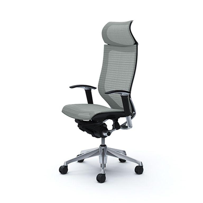 Кресло OKAMURA CP Сетка Серая