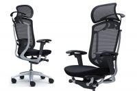 Židle CONTESSA 2 s Širokým Síťovaným Pevným Podhlavníkem