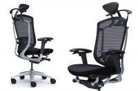 Židle CONTESSA 2 s Úzkým Koženým Nastavitelným Podhlavníkem