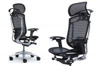Кресло CONTESSA 2 Черная сетка Polished