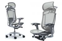 CONTESSA 2 Grey Body Light grey Mesh Chair