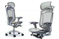 Кресло CONTESSA 2 Светло-серая сетка Серый каркас