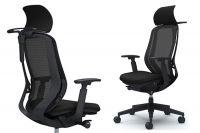 Кресло OKAMURA SYLPHY Black База Черная
