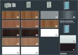 XTime Work - Материалы для Шкафов  - Стеклянная Мебель X-Time Work с ногами STOP