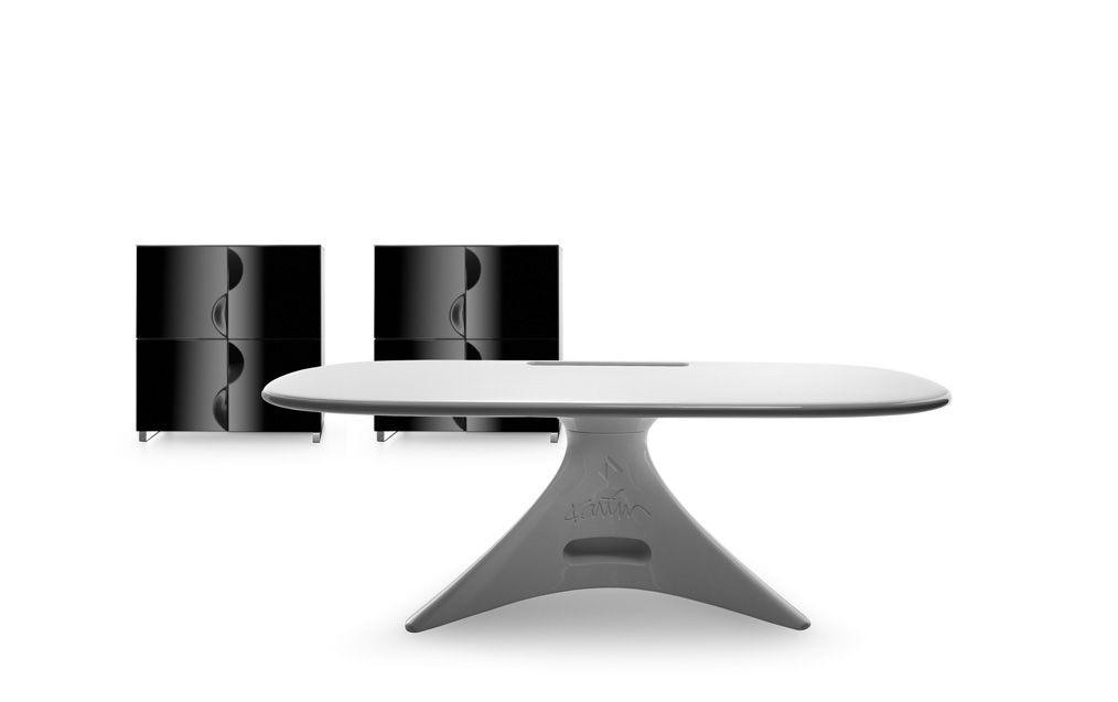Дизайнерские Столы ZERO в Цвете Белое Облако